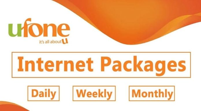 Ufone Internet Packages: Daily, Weekly & Monthly 3G/4G Packages