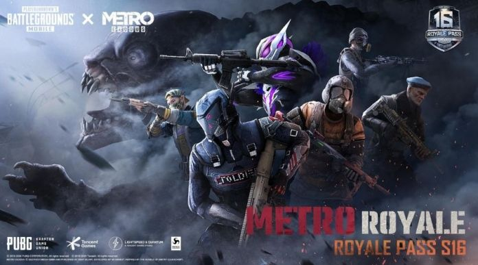 PUBG Mobile and Metro Exodus join hands for first ever Co-Branded Royale Pass Season 16