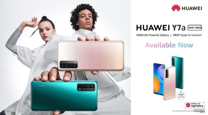 Huawei Y7a launched in Pakistan: Price, Specs & Features