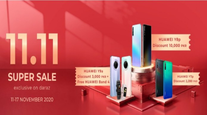 Huawei Launches 11.11 Sale for its Devices on Daraz