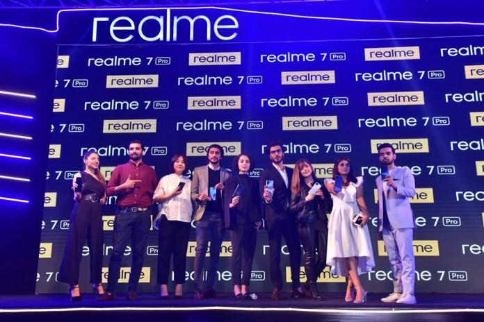 realme 7 pro launch event