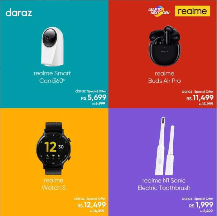 realme products on daraz 11 11 sale