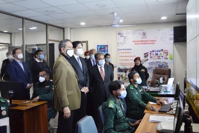 ventilators donation to rescue 1122