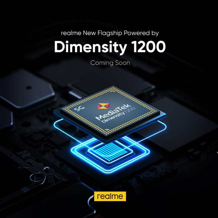 Realme to release a 5G smartphone equipped with MediaTek's Dimensity 1200