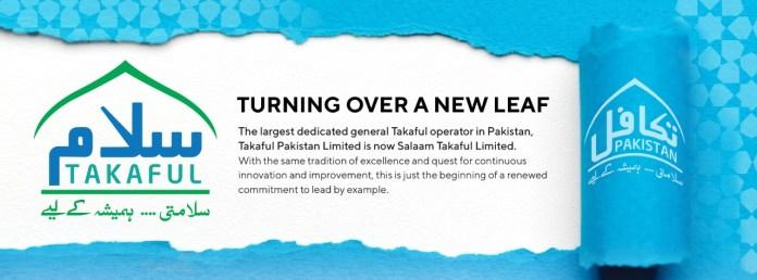 Takaful Pakistan Ltd. Is Now Salaam Takaful Ltd.