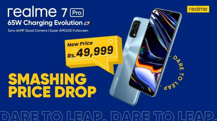Get ready to get your Realme 7 Pro with 65W SuperDart charge now offered for PKR 49,999 only in Pakistan