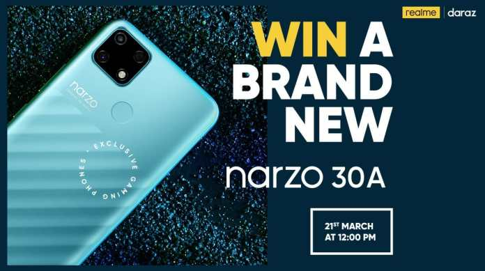 realme to launch the Narzo 30A for Ultimate Gaming