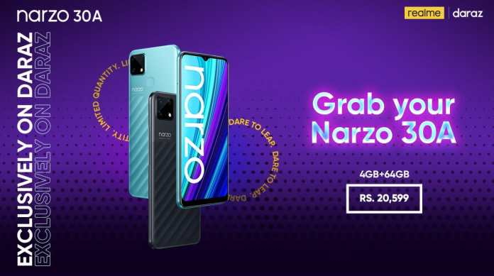 Realme Launches Gaming Beast Narzo 30A with MediaTek Helio G85 processor and 6000mAh Battery