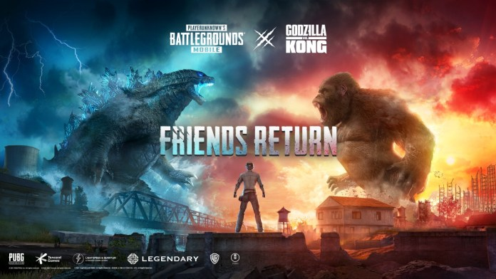 PUBG Mobile to release exclusive 'Kings Godzilla & Kong' In-Game Collaboration With Legendary Entertainment