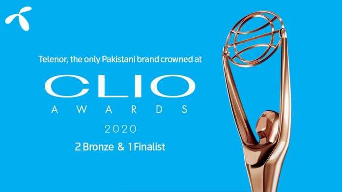 Telenor Pakistan wins prestigious awards for PR at the Clio Awards 2020