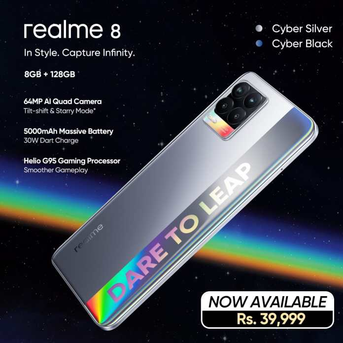 Realme 8, The Gaming Beast is Now Available Across Pakistan