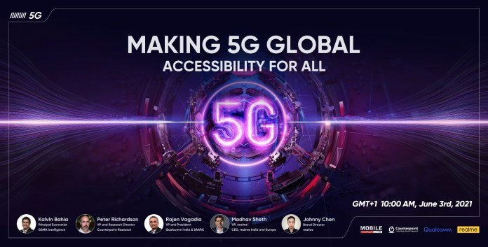 Realme 5G Summit Ends with a Commitment to Bring 5G Phones to 100 Million Young Consumers in Next 3 Years