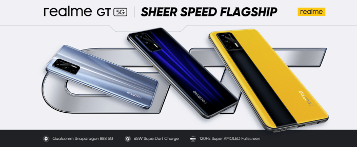 Realme's First-ever Global Launch Event Unveiled realme GT & New AIoT Products