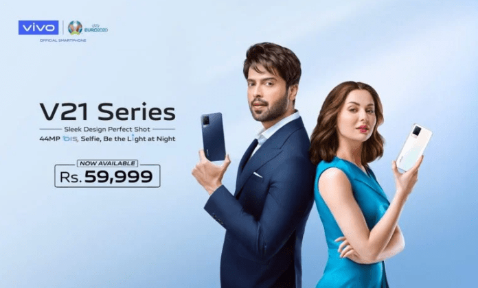 vivo's 44MP OIS Night Selfie System Smartphone V21 Now Available for Sale in Pakistan