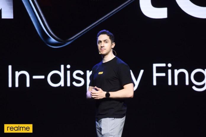 Alessio Bradde, realme Product Marketing Manager