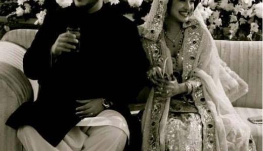 azaan sami wedding