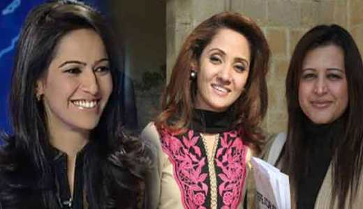 Ayesha Baksh Gharida and Sana Mirza