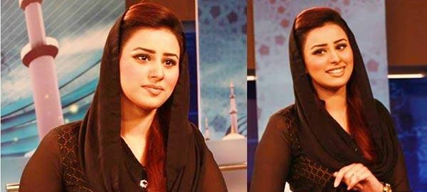 Madiha Naqvi in ramzan show