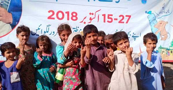 vaccinated children