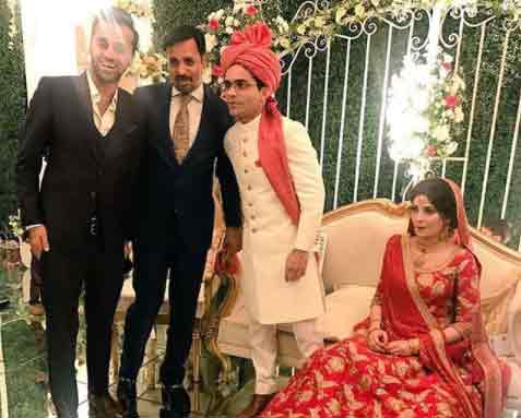 shahzeb khanzada marriage