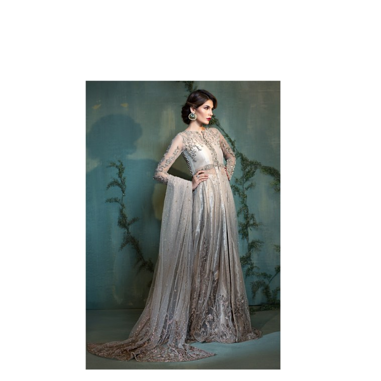 Blended Rosegold Pakistani Ready To Wear Pret Dresses Online Bridal