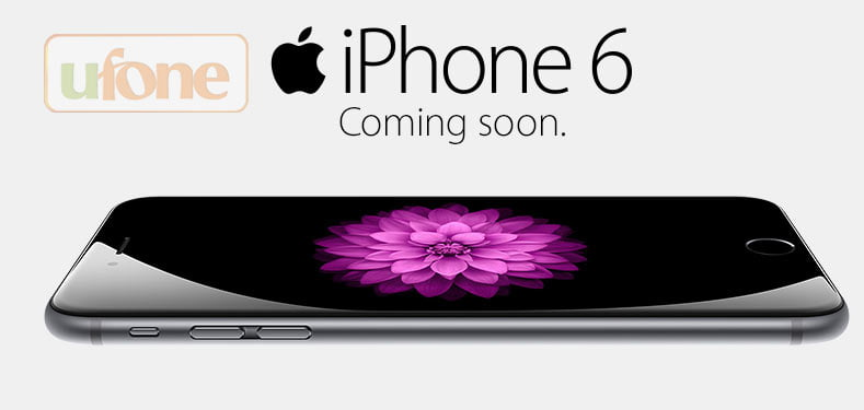Ufone is launching iPhone6 and iPhone plus