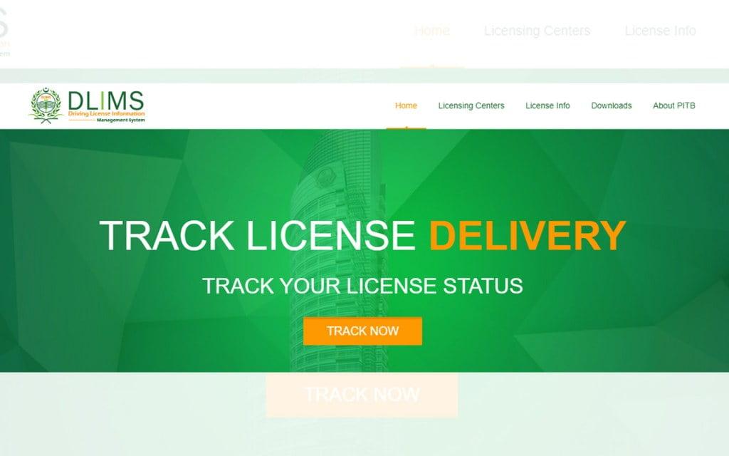 Driving License Online Applying Website in Pakistan