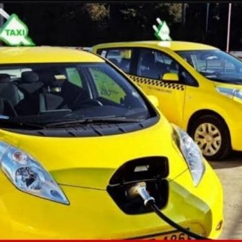 Pakistan's very first Electric Taxi as Part of PM's Clean Green Pakistan Vision