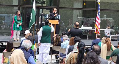 شکاگو میں قونصلیٹ جنرل آف پاکستان کی جانب سے جشن آزادی پاکستان کی تقریب