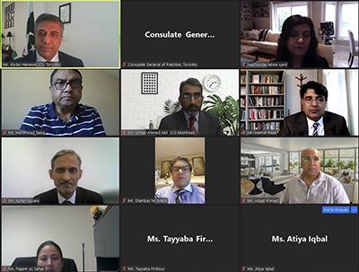 پاکستان ہائی کمیشن اٹاوا- امیر خرم راٹھور کا کینیڈا کی سیاسی و سماجی زندگی میں بھرپور کردار ادا کرنے پر پاکستانی کمیونٹی کو خراج تحسین، ٹورنٹو میں نادرا سنٹر بنایا جائے گا