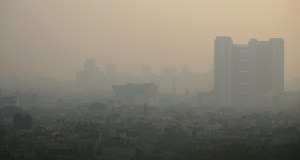 Pollution in New Delhi has emerged as a major problem. (Photo by Jean-Etienne Minh-Duy Poirrier Follow, Creative Commons License)