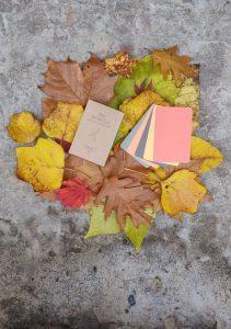 Őszi barangoló színkártyák