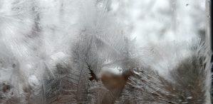 Jégvirág ablakdísz