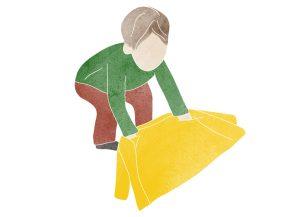 Montessori coat flip borító