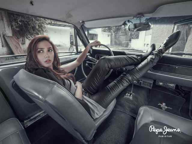 Mahira Khan for Pepe Jeans Pakistan Winter 2015 Campaign - #MKLovesPepe (10)