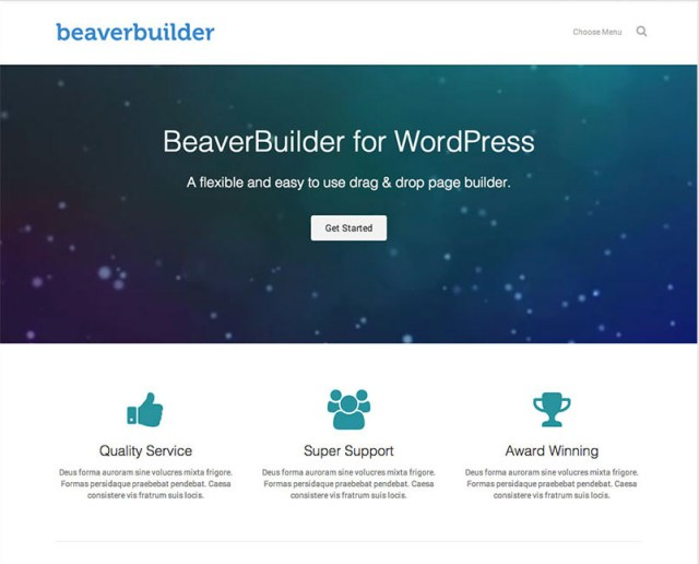 Download Beaver Builder Theme For WordPress