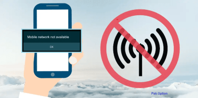 How to change cellular network not available for calls