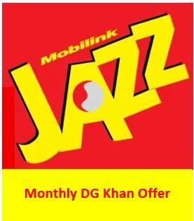 Jazz Monthly DG Khan Offer