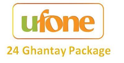 Ufone 24 Ghantay Package