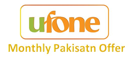Ufone Monthly Pakistan Package