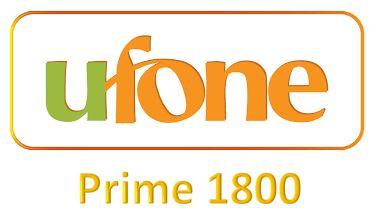 Ufone Prime 1800