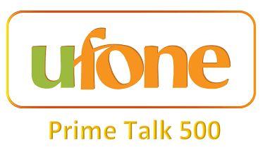 Ufone Prime Talk 500