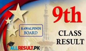Rawalpindi Board 9th Class Result 2021