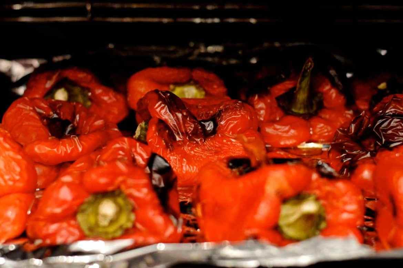 ajvar grilled peppers