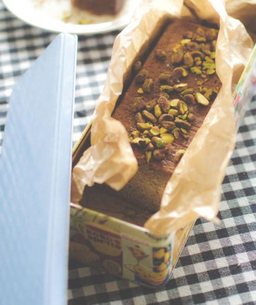 chai bulgur breakfast cake
