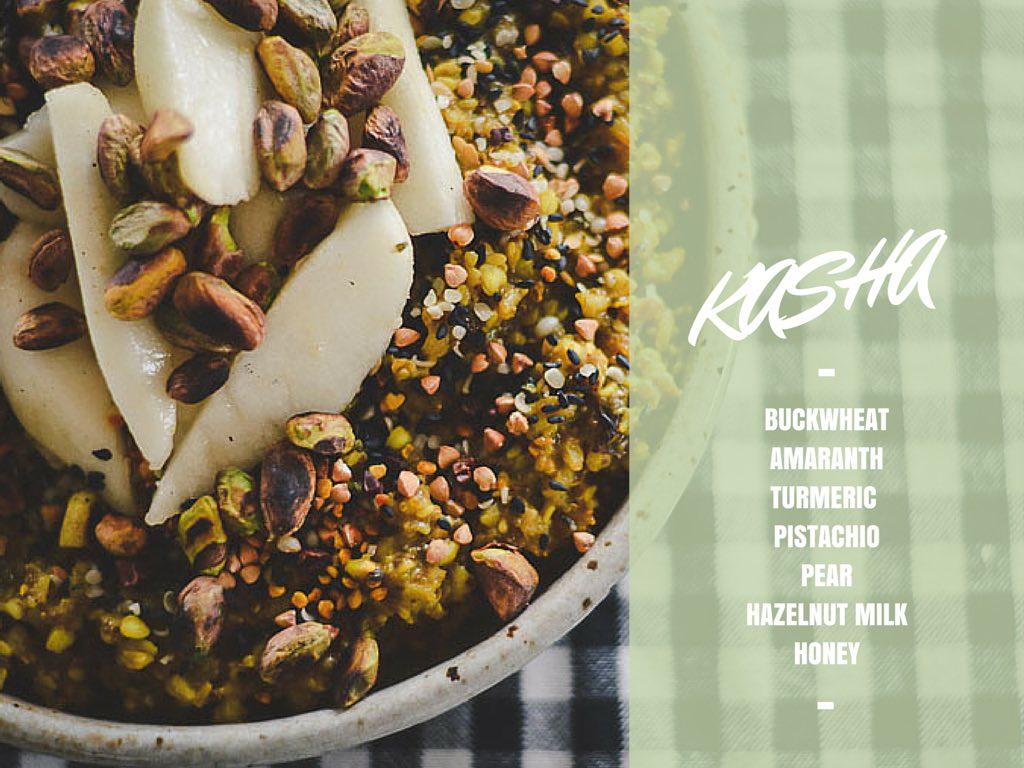 turmeric buckwheat kasha