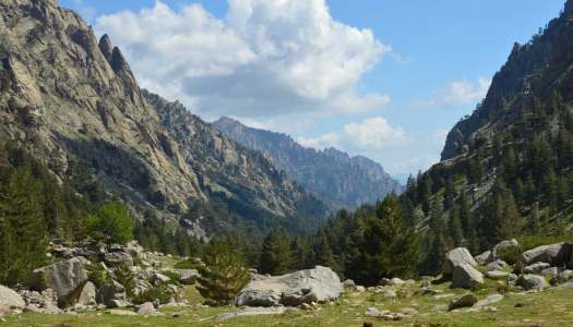 Lac de Melu and handling my bodyweight on a mountain