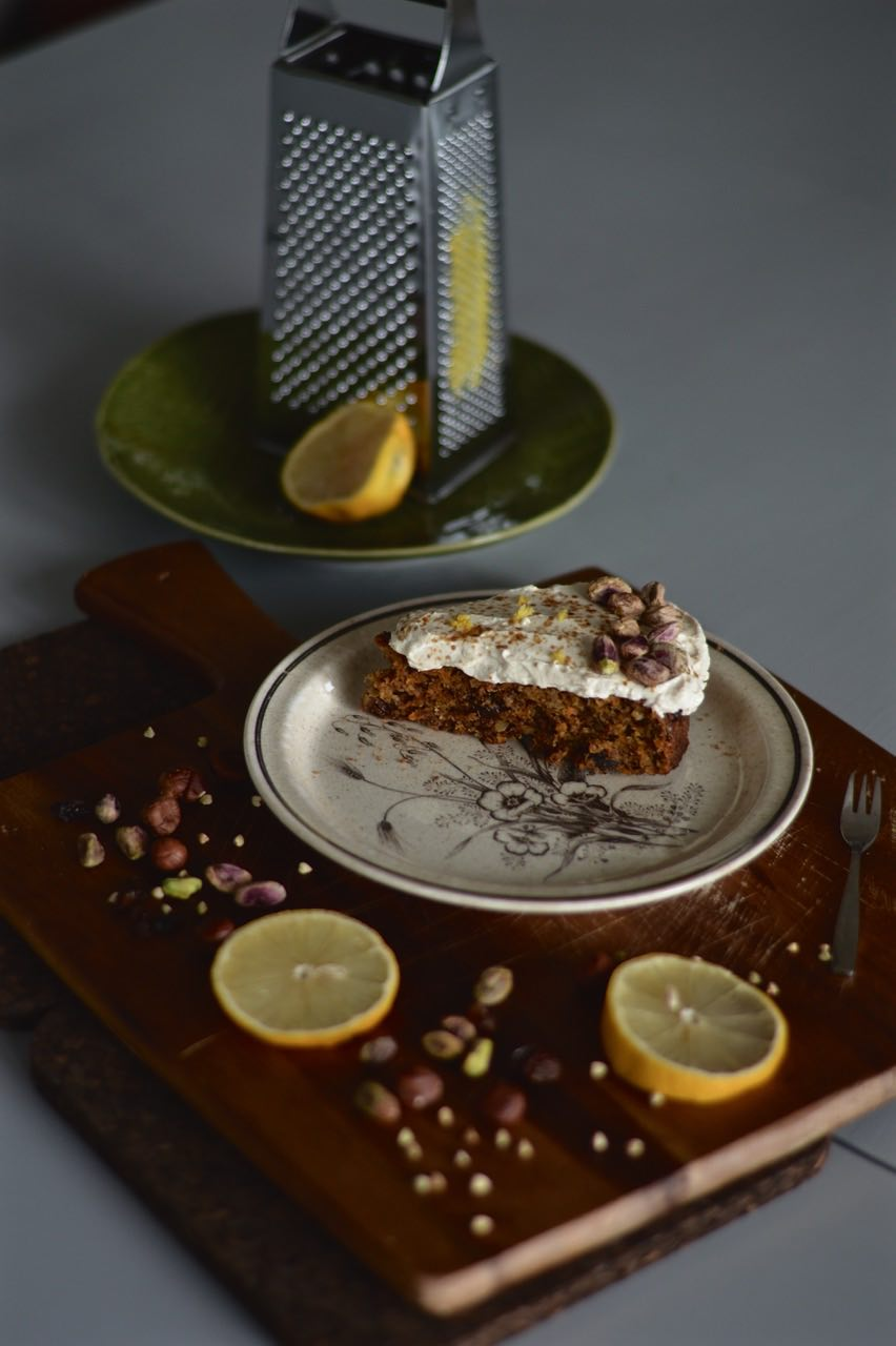 buckwheat almond carrot cake