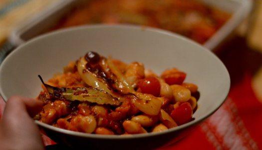 Tavce gravce a Macedonian baked bean casserole recipe