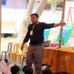 Abdul rauf conducted Fun Science Show at Rahat-e-Islamia government School